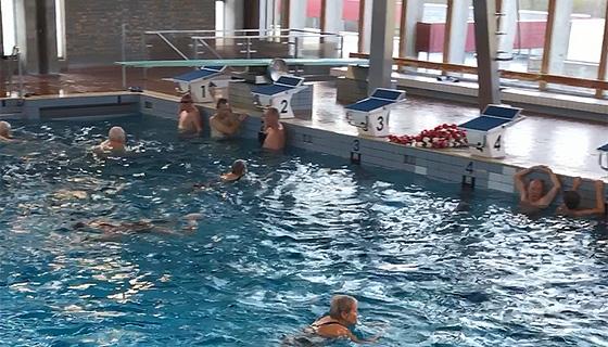 Situationsbillede fra svømning i Næstved Svømmehal